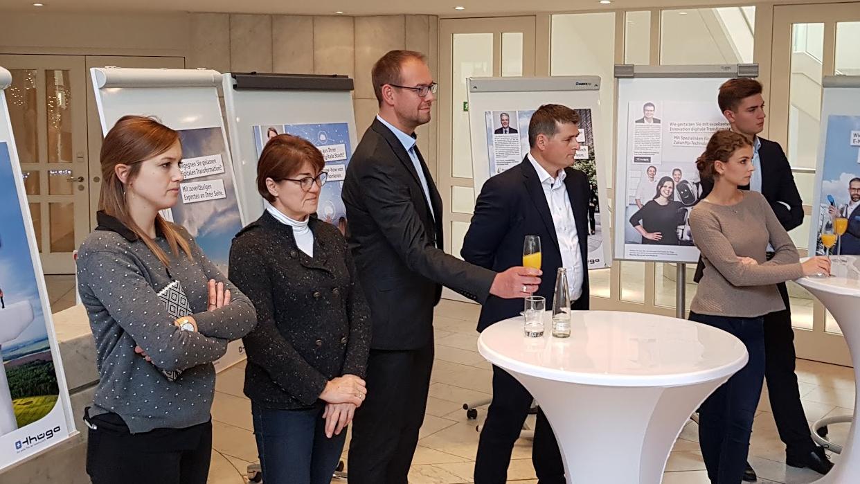 Die Kolleginnen und Kollegen der Thüga sind die Gesichter der neuen Anzeigenkampagne.