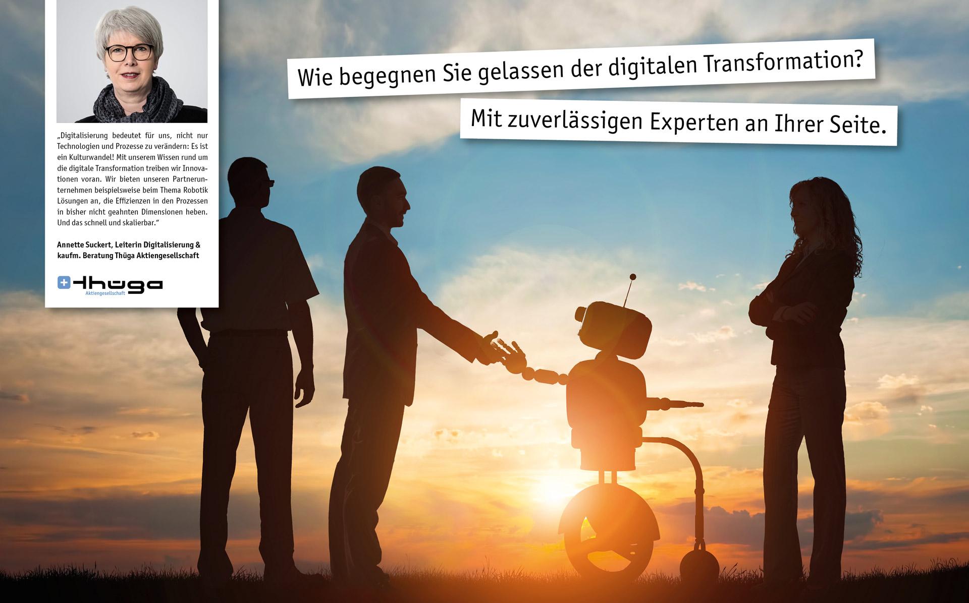 Wie begegnen Sie gelassen der digitalen Transformation? Mit zuverlässigen experten an Ihrer Seite.