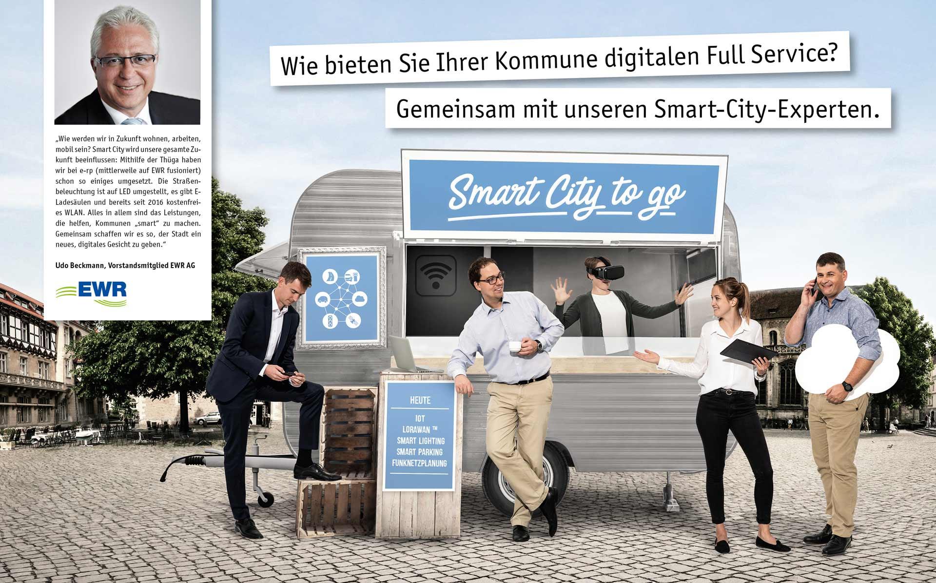 Wie bieten Sie Ihrer Kommune digitalen Full Service? Gemeinsam mit unseren Smart-City-Experten