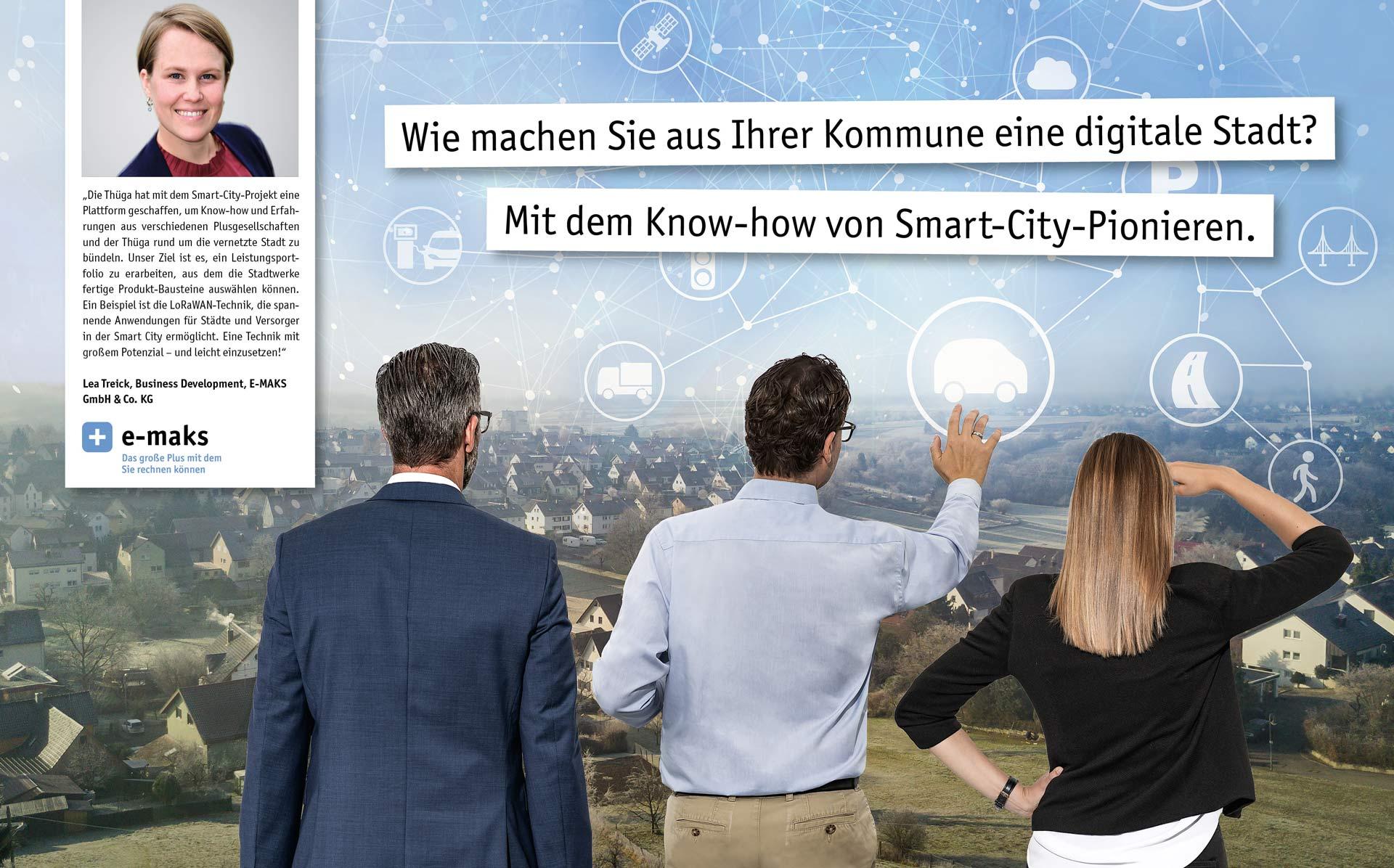 Wie machen Sie aus Ihrer Kommune eine digitale Stadt? Mit dem Know-how von Smart-City-Pionieren.